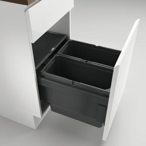 Coxィ Base 360 S/450-2, Afvalverzamelsysteem voor Frontuittreksysteem., antraciet, H 360 mm