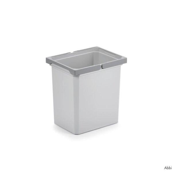 Reserve emmer, Afvalverzamelsysteem voor Frontuittreksysteem., antraciet, 15,5 liter