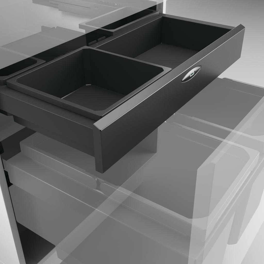 Cox Base-Board® 600, Schuiflade voor benodigdheden, antraciet
