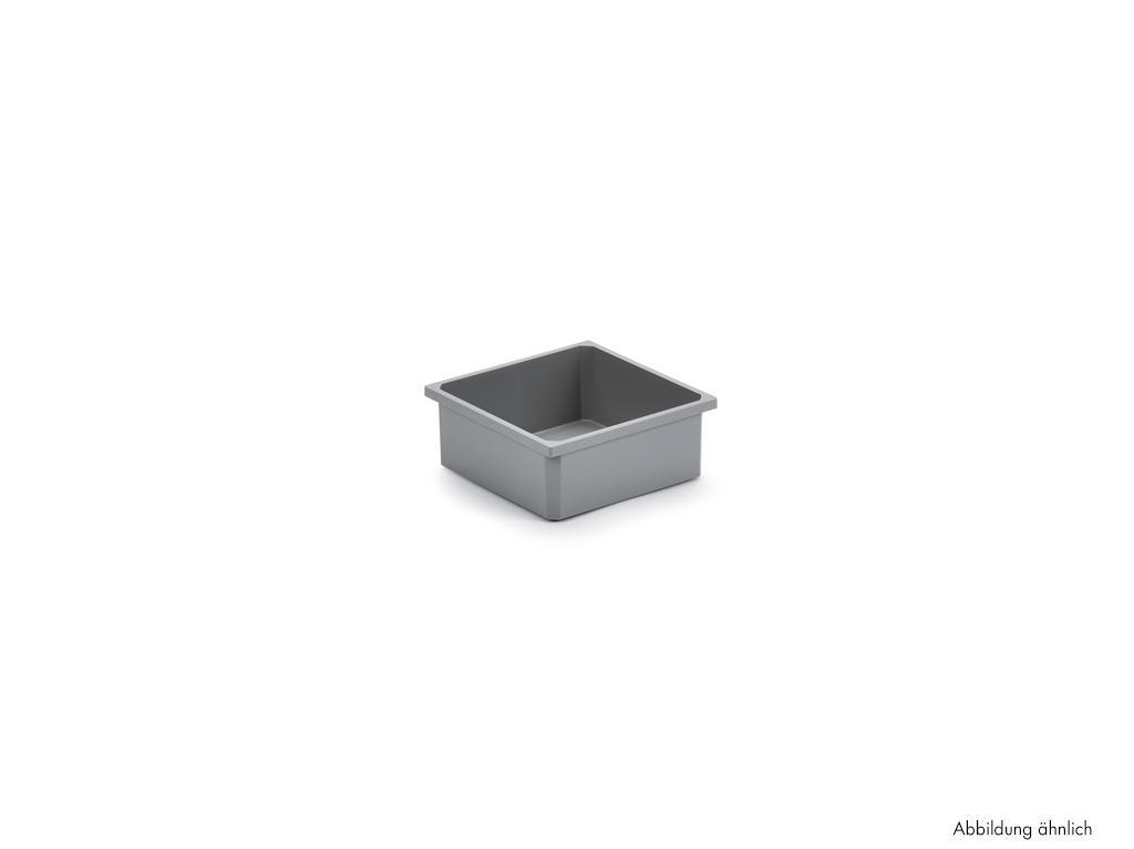 Bewaarbox, Systeembakje., antraciet, 1,2 liter