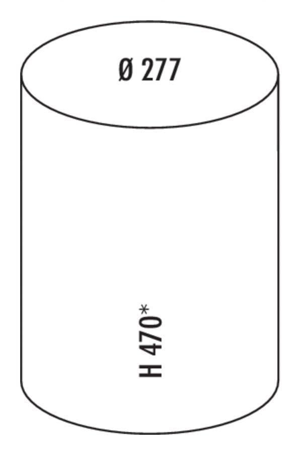 Rondo 5, Afvalsysteem voor Zwenktechniek., grijs