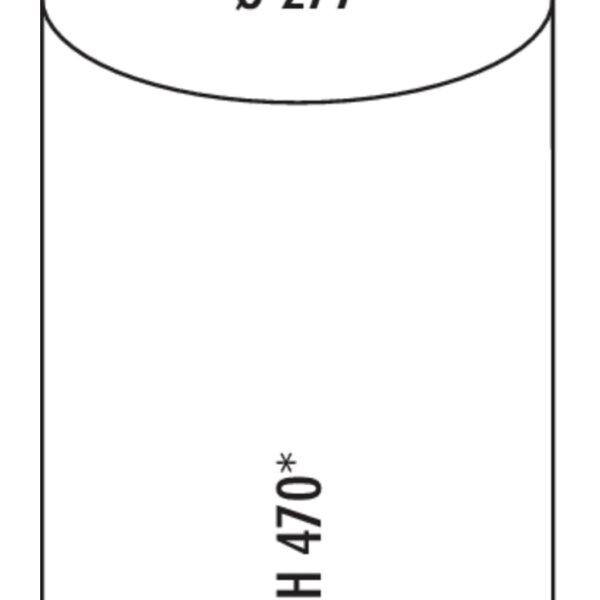 Rondo 5, Afvalverzamelsysteem voor Zwenktechniek., wit
