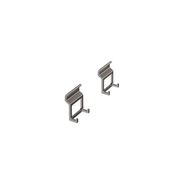 8041166 600x600 - Miro Set met dubbele haken, Relingsysteem, antraciet geanodiseerd