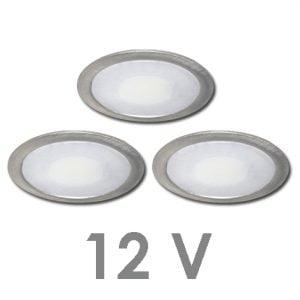90 1101 300x300 - FORMA Sun led set 12V inbouw 3 x 2,4 Watt incl. dimmer / afstandsbediening
