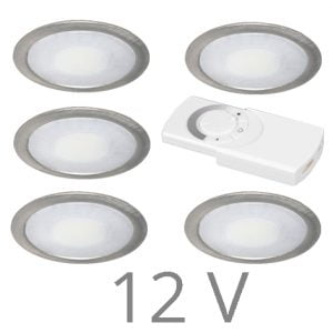90 1107 300x300 - FORMA DELTA Mini LED set 12V 3 x 2,4 Watt incl. dimmer / afstandbediening