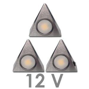 90 1113 300x300 - FORMA Sun led set 12V inbouw 5 x 2,4 Watt incl. dimmer / afstandsbediening