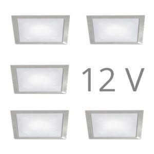 90 1133 300x300 - FORMA Sun Q led set 12V inbouw 3 x 2,4 Watt