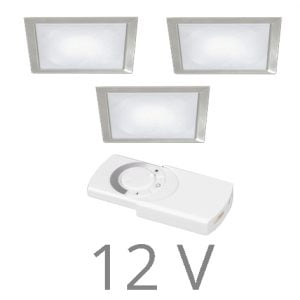 90 1135 300x300 - FORMA Q Sun led set 12V inbouw 5 x 2,4 Watt incl. dimmer / afstandsbediening