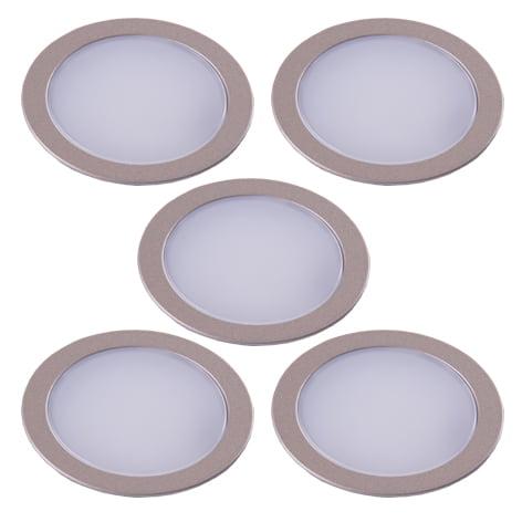 90 2565 - L&S LED spot Nube set 5 x 2,5 Watt