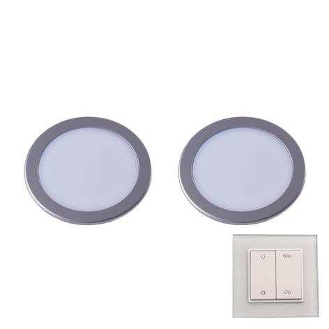 90 3112 - L&S LED spot Moonlight Emotion set 2 x 3,6 Watt