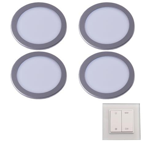 90 3114 - L&S LED spot Moonlight Emotion set 4 x 3,6 Watt