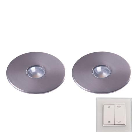 90 3122 - L&S LED spot Superlight Emotion set 2 x 2,9 Watt