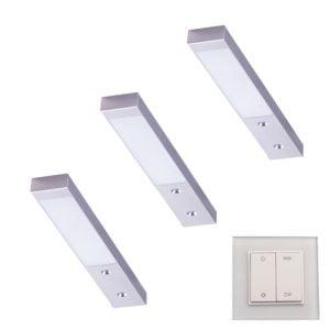 90 3133 300x300 - L&S LED spot Rettangolo Emotion set 2 x 3,1 Watt