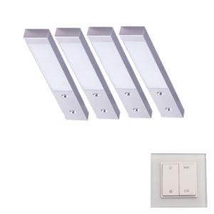 90 3134 300x300 - L&S LED spot Rettangolo Emotion set 5 x 3,1 Watt