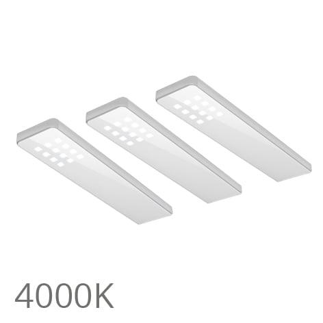 90 5356 - FORMA Key dot set 3 x 5,0 Watt wit 4000K