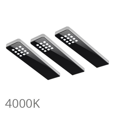 90 5357 - FORMA Key dot set 3 x 5,0 Watt zwart 4000K