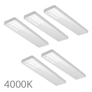 90 5358 300x300 - FORMA Key panel set 3 x 5,0 Watt zwart