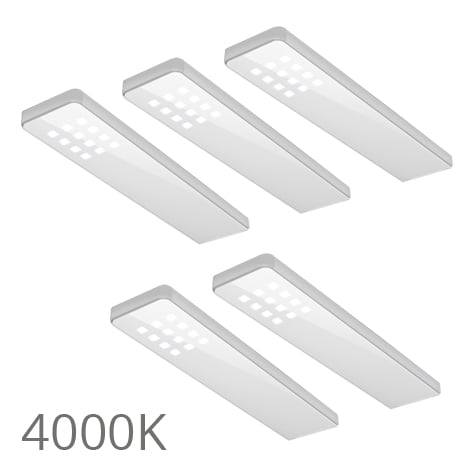 90 5358 - FORMA Key dot set 5 x 5,0 Watt wit 4000K