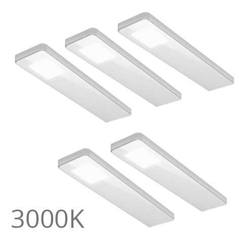 90 5363 - FORMA Key panel set 5 x 5,0 Watt wit 3000K