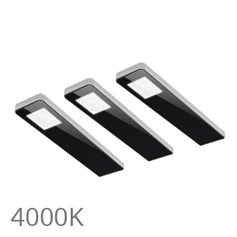 90 5367 - FORMA Key panel set 3 x 5,0 Watt zwart