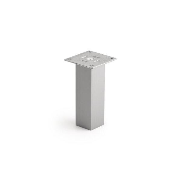 Kreta 2 recht, Console Barsteun, roestvrij staalkleurig, H 170 mm