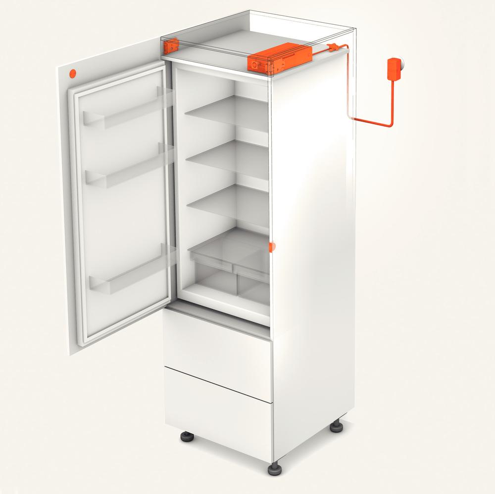 Blum SERVO DRIVE Flex voor koelkast en vaatwasser