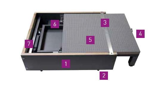 Blum SPace Step detail