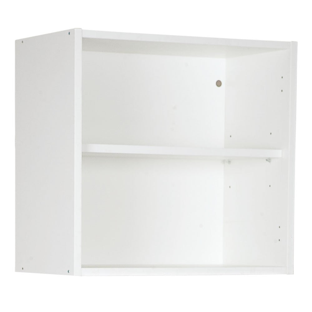 Bovenkast, kleur wit, H562mm, Keukenkasten zonder front,