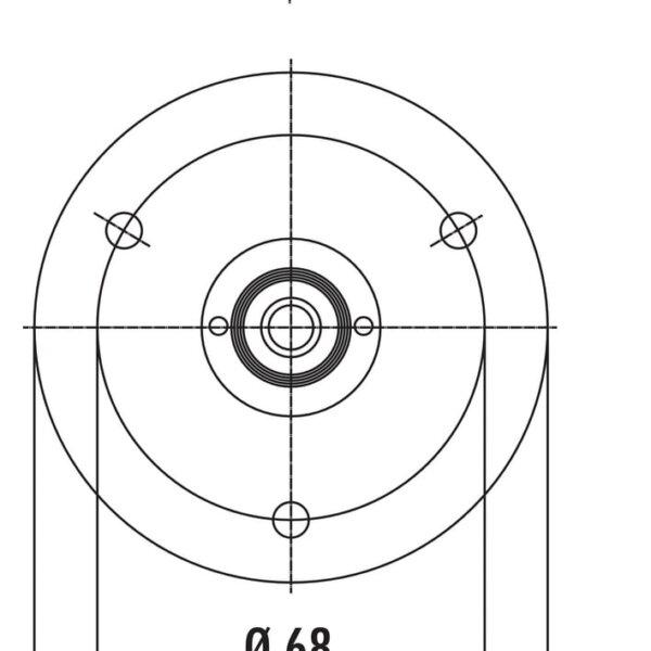 Draaiadapter Barsteun Console draaibaar montage