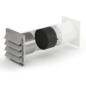 E-Jal 150 muurdoorvoer met THERMOBOX, Naber COMPAIR® Flow 150