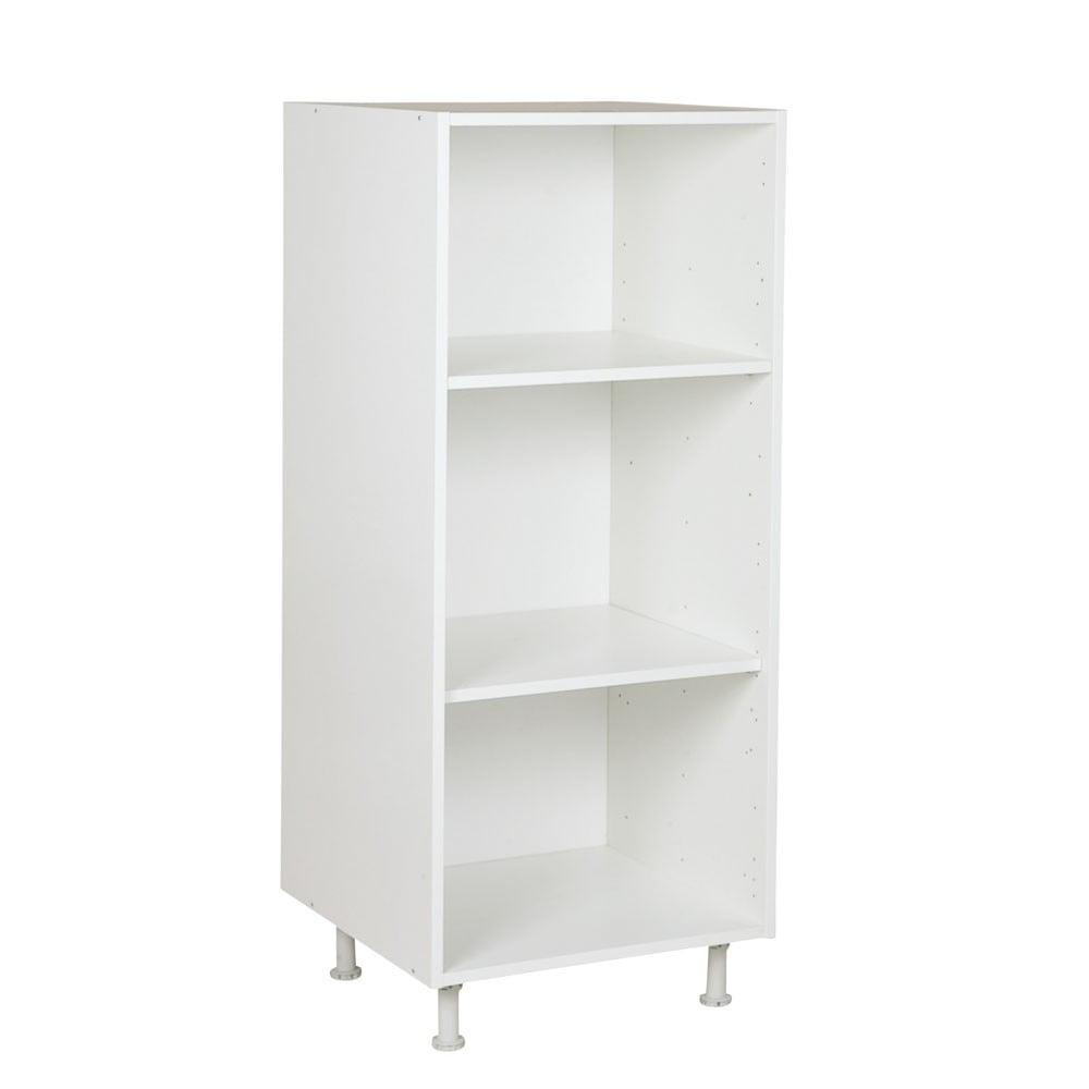 Halfhoge kast, kleur wit, H1660mm, Keukenkasten zonder front,