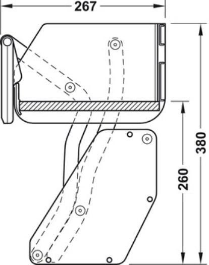 Kessebohmer iMOVE 1 niveau bovenkast systeem