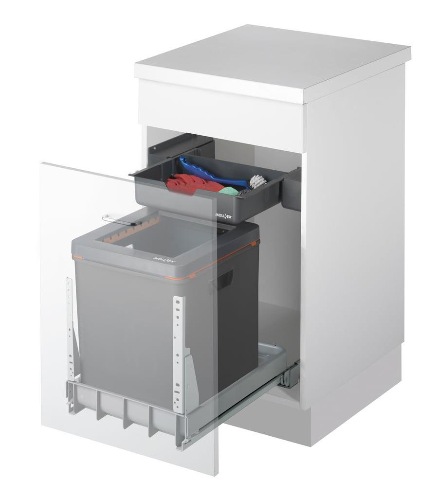 Mullex Boxx 40R afvalsysteem voor uittrekfront