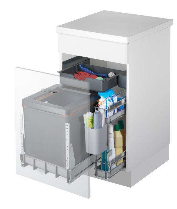 Mullex Boxx 40R-P afvalsysteem voor uittrekfront