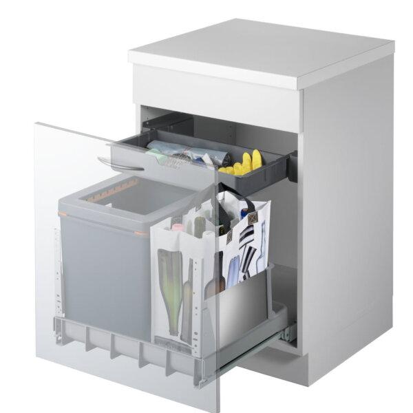 Mullex Boxx 55/60-R City afvalsysteem voor uittrekfront