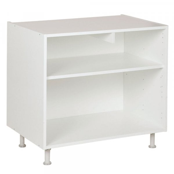 Onderkast 80cm tot 120cm, kleur wit, H782mm, Keukenkasten zonder front,