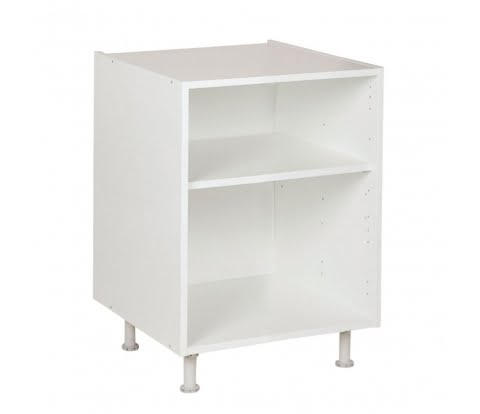 Onderkast tot 60cm, kleur wit, H702mm, Keukenkasten zonder front,