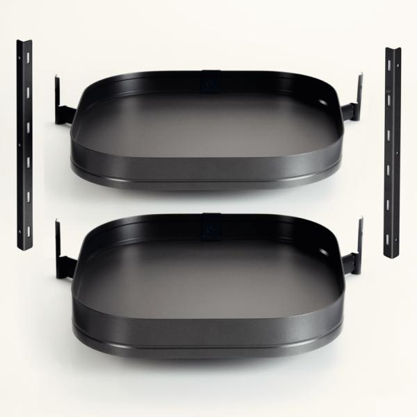 SET846 V05 600x600 - Kessebohmer TurnMotion II met 2 draaiplateaus Antraciet