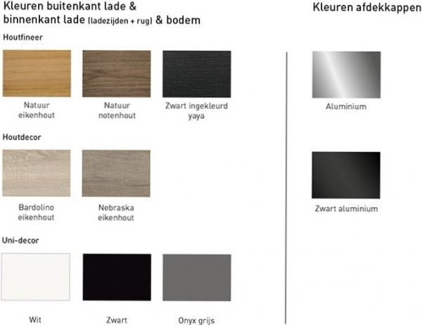 TAOR kleuren 1 1 600x462 - Blum TAOR Box binnenlade CZ