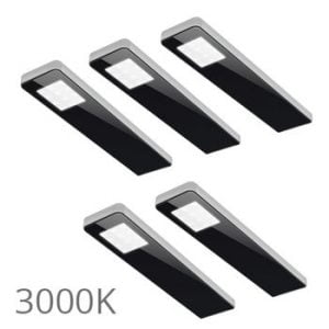 csm 90 5364 8e7577b793 300x300 - FORMA Key panel set 3 x 5,0 Watt zwart