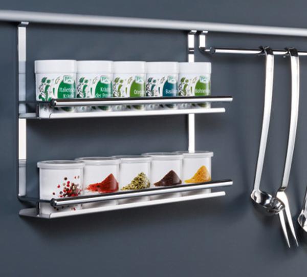 Relingsystemen voor keukens