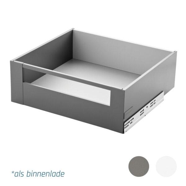 Slimbox lades op maat binnenlade met front